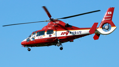 HL9447 - Eurocopter AS 365N2 Dauphin - South Korea - Seoul fire department