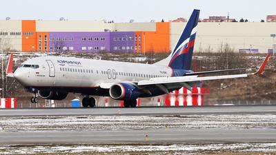 VQ-BWF - Boeing 737-8LJ - Aeroflot