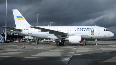 UR-ABA - Airbus A319-115X(CJ) - Ukraine - Government