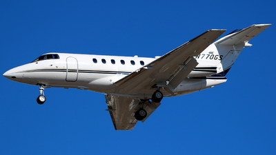 N770GS - Hawker Beechcraft 750 - Private