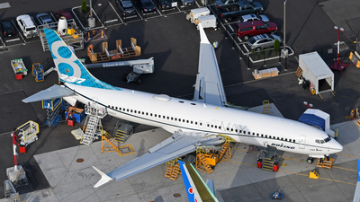 N8703J - Boeing 737-8 MAX - Boeing Company