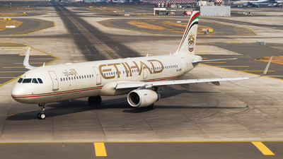 A6-AEB - Airbus A321-231 - Etihad Airways