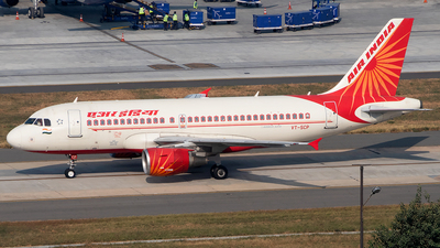 A picture of VTSCP - Airbus A319112 - Air India - © Sandeep Pilania