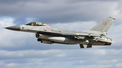 E-599 - General Dynamics F-16AM Fighting Falcon - Denmark - Air Force