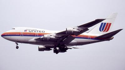 N146UA - Boeing 747SP-21 - United Airlines
