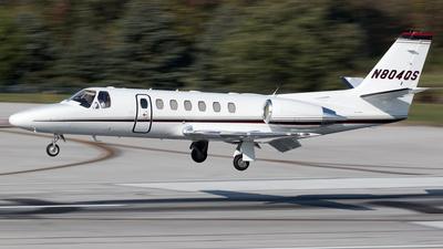 N804QS - Cessna 560 Citation V - NetJets Aviation