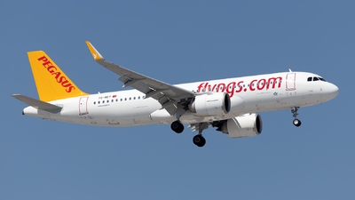 A picture of TCNCT - Airbus A320251N - Pegasus Airlines - © Mustafa Sandikci