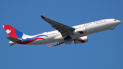 F-WWYN - Airbus A330-243 - Nepal Airlines