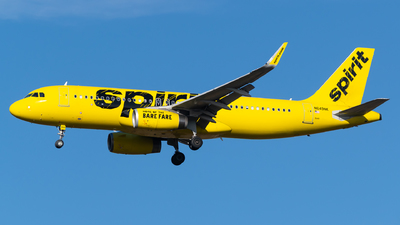 A picture of N649NK - Airbus A320232 - Spirit Airlines - © Evan Dougherty