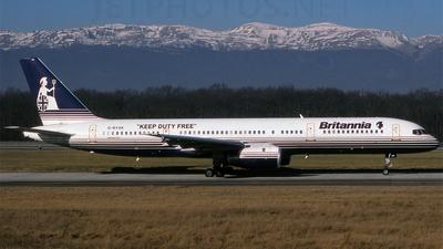 G-BYAK - Boeing 757-204 - Britannia Airways