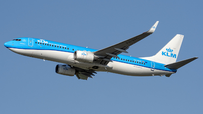 A picture of PHBXC - Boeing 7378K2 - KLM - © András Soós