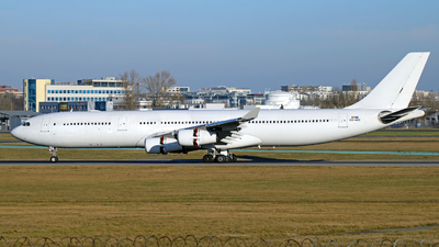 OO-ABE - Airbus A340-313E - Air Belgium