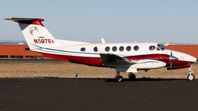 N597BA - Beechcraft B200 Super King Air - Private