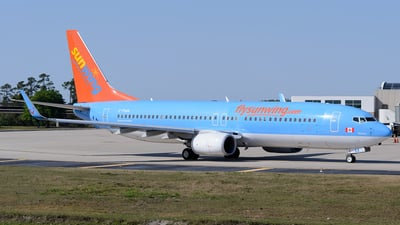 C-FUAA - Boeing 737-8BK - Sunwing Airlines