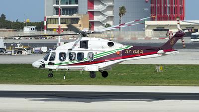 A7-GAA - Agusta-Westland AW-189 - Gulf Helicopters