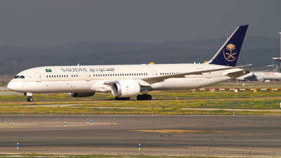 A picture of HZARB - Boeing 7879 Dreamliner - Saudia - © Thomas Ramgraber