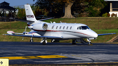 A picture of N325ND - Cessna 560XL Citation Excel - Delta Private Jets - © Agustin Anaya