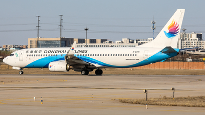 A picture of B6981 - Boeing 73783Z - Donghai Airlines - © FLYMAN66