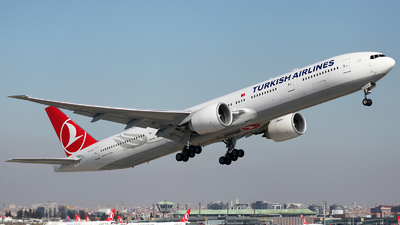 TC-LJI - Boeing 777-3F2ER - Turkish Airlines