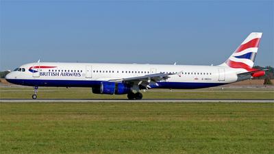 G-MEDJ - Airbus A321-231 - British Airways