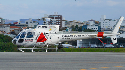 PP-MMG - Helibrás AS-350B3 Esquilo - Brazil - Government of Minas Gerais