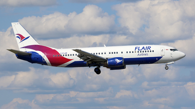 C-FLHE - Boeing 737-490 - Flair Airlines