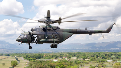 EJC3398 - Mil Mi-17V5 Hip H - Colombia - Army