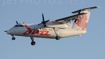 C-GANF - Bombardier Dash 8-102 - Jazz Aviation