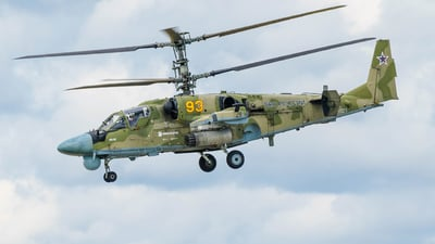 RF-91123 - Kamov Ka-52 Alligator - Russia - Air Force