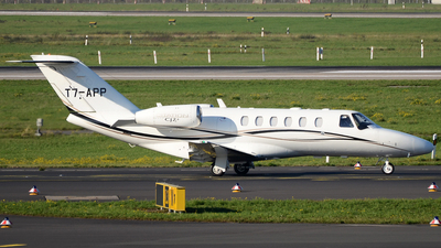 A picture of T7APP - Cessna 525A CitationJet Cj2+ - [525A0457] - © Bjoern Huke