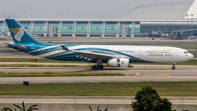 A picture of A4ODI - Airbus A330343 - Oman Air - © Pang Fa-lan