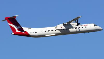 A picture of VHLQF - De Havilland Canada Dash 8400 - Qantas - © Danielle.L.