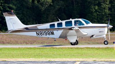 A picture of N8198M - Beech A36 Bonanza - [E2787] - © HA-KLS