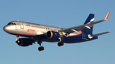 A picture of VQBSI - Airbus A320214 - Aeroflot - © Airyura