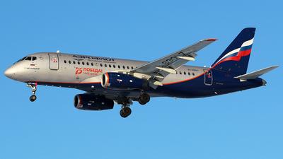 A picture of RA89017 - Sukhoi Superjet 10095B - Aeroflot - © BizavMen