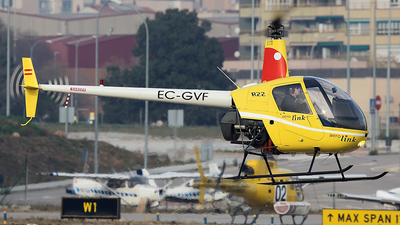 EC-GVF - Robinson R22 Beta - Aerolink Air Services