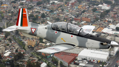 6604 - Beechcraft AT-6C - Mexico - Air Force