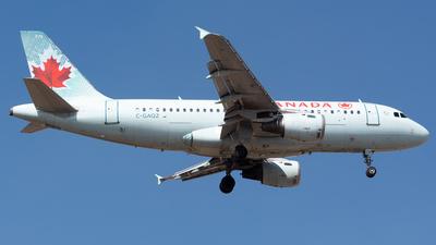 A picture of CGAQZ - Airbus A319114 - Air Canada - © Antonio Velasco (MAS Aviation Press)