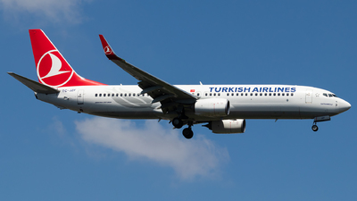 TC-JZF - Boeing 737-8F2 - Turkish Airlines