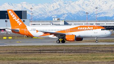 A picture of GEZUA - Airbus A320214 - easyJet - © Luca Cesati