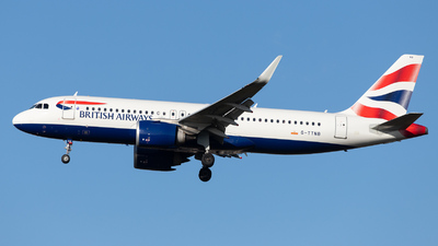 A picture of GTTNB - Airbus A320251N - British Airways - © kevin.hackert