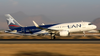 CC-BFX - Airbus A320-214 - LAN Airlines