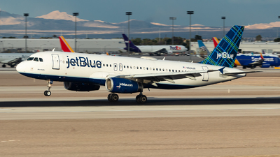 A picture of N524JB - Airbus A320232 - JetBlue Airways - © Hiro