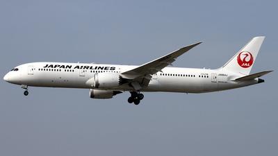 JA864J - Boeing 787-9 Dreamliner - Japan Airlines (JAL)