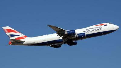 G-GSSE - Boeing 747-87UF - British Airways World Cargo (Global Supply Systems)