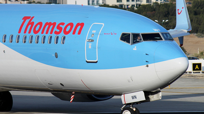 G-TAWN - Boeing 737-8K5 - Thomson Airways