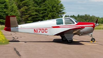 N17DC - Beechcraft B35 Bonanza - Private