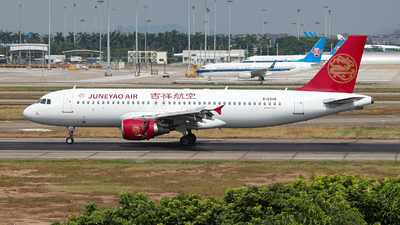 B-6948 - Airbus A320-214 - Juneyao Airlines