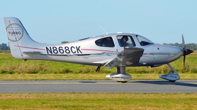 N868CK - Cirrus SR22-GTS G3 Turbo - Private