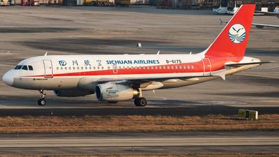 B-6175 - Airbus A319-133(LR) - Sichuan Airlines